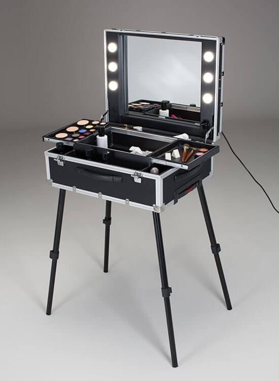 Make-Up Case Trolley CantoniSchminkkoffer VT101C.TR