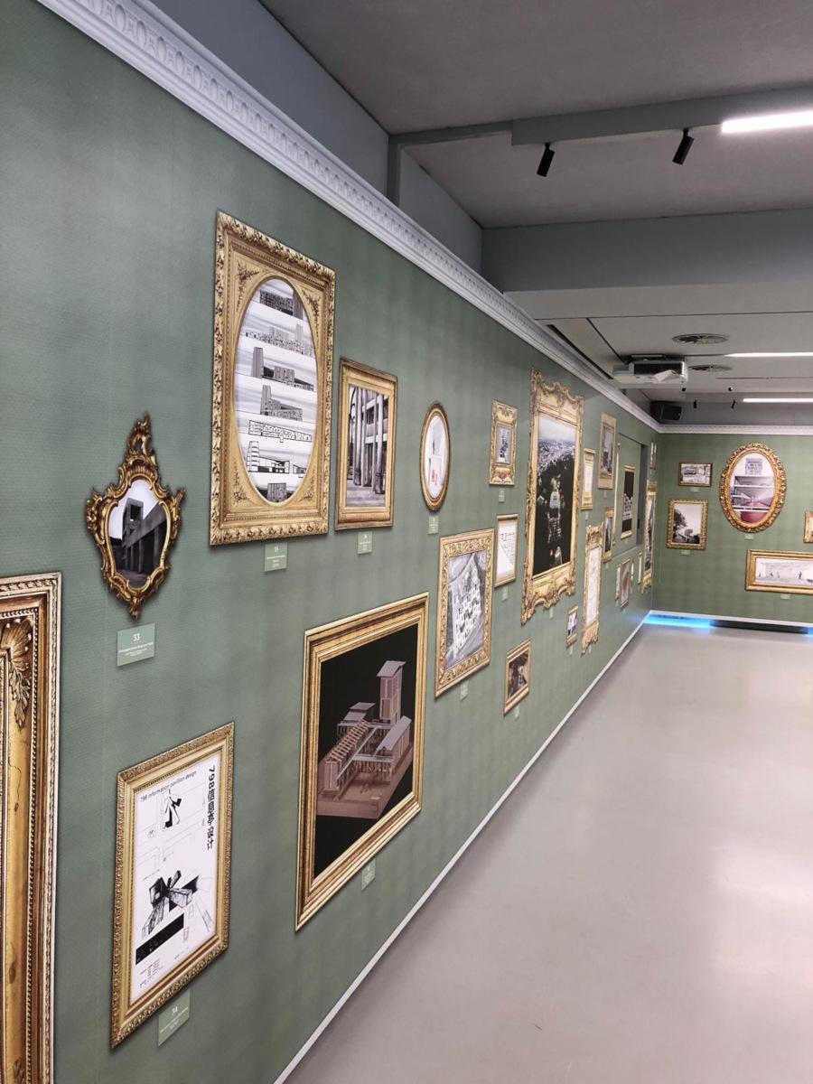 Ausstellung Tapete bedruckt nach Kundendesign