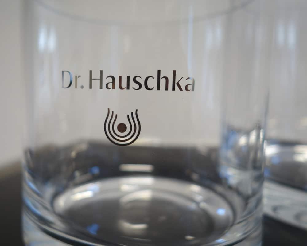 Zylinderglas als Vase oder für kleinteilige Werbemittel